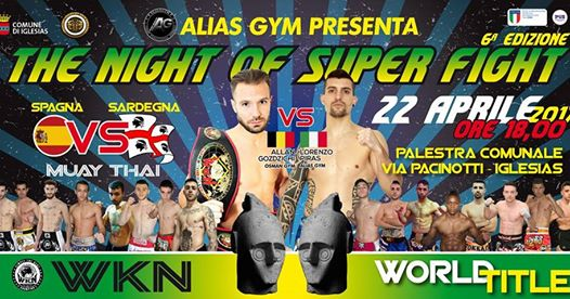 THE NIGHT OF SUPER FIGHT