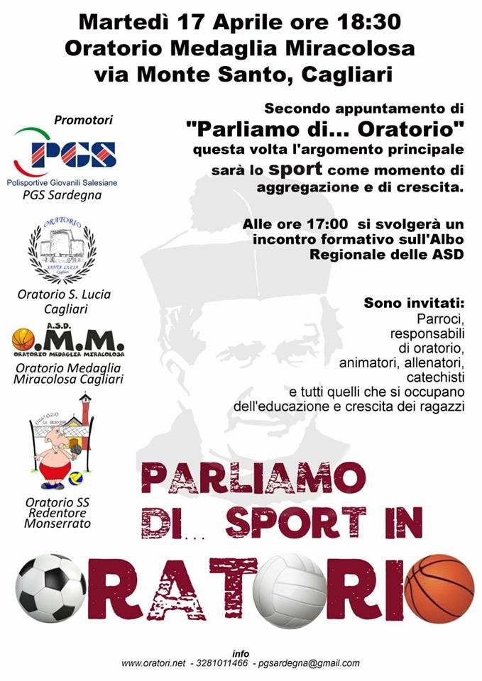 (Italiano) PARLIAMO DI SPORT IN ORATORIO