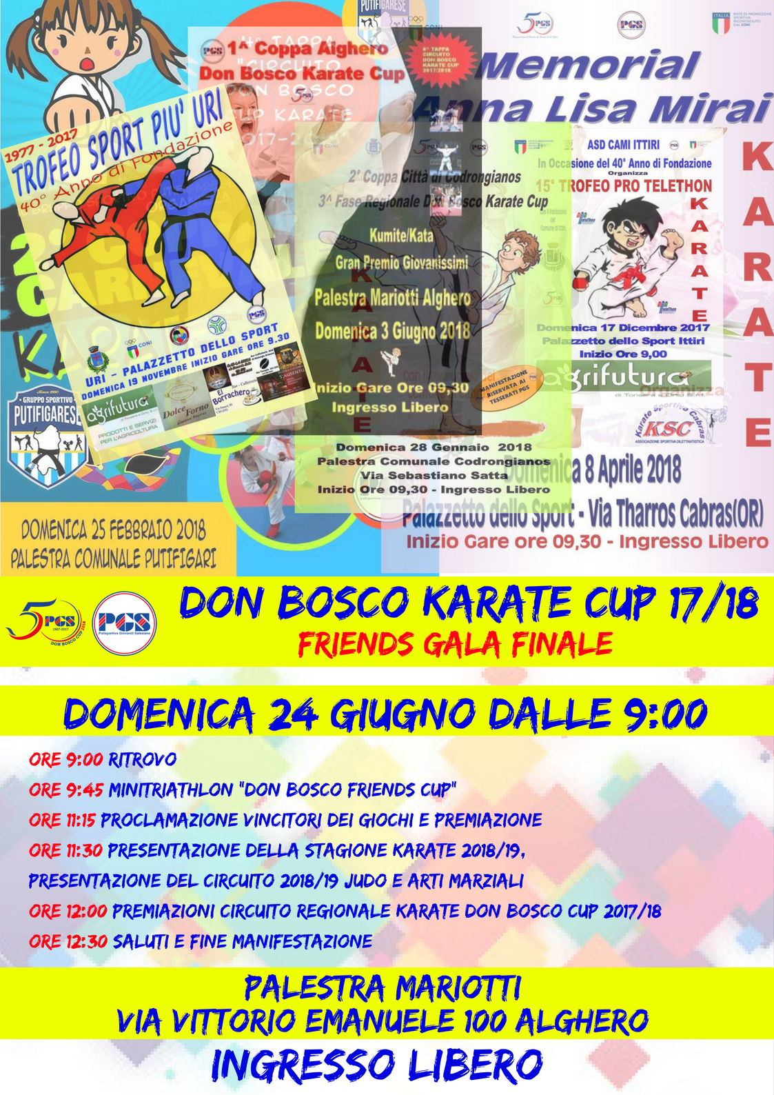 Gala Master Final Don Bosco Karate Cup 2018