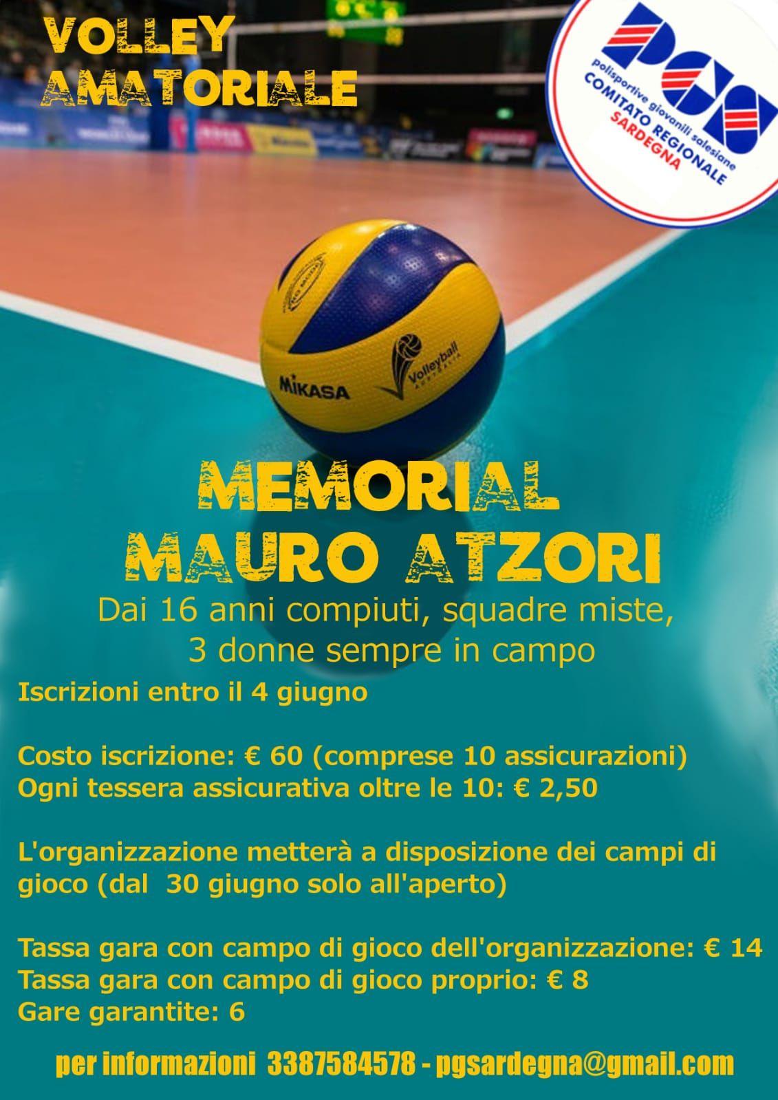 (Italiano) MEMORIAL MAURO ATZORI