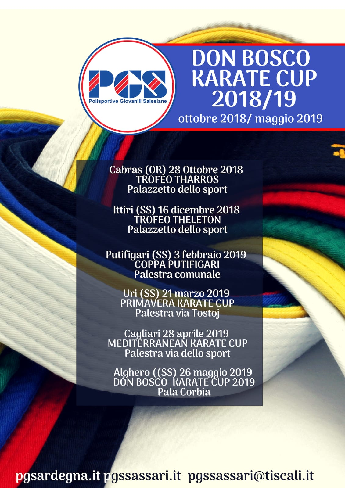 DON BOSCO KARATE CUP 2018-2019