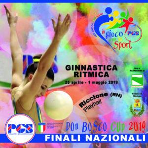 Finali Nazionali Ginnastica Ritmica 2019