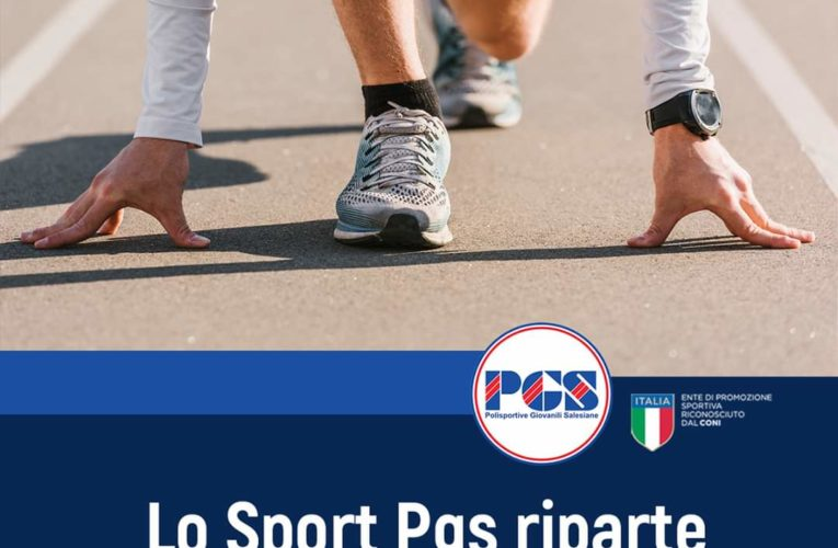 Lo sport PGS riparte in sicurezza